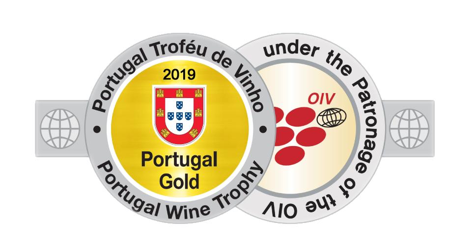 Medalha de Ouro - Portugal Wine Trophy 2019
