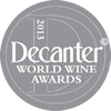 MEDALHA DE PRATA, DECANTER WORLD WINE AWARDS, LONDON, 2013