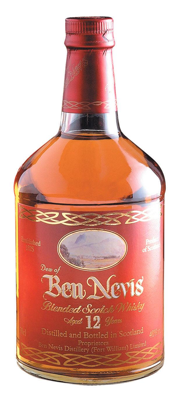 Ben Nevis 12 Years Old Deluxe